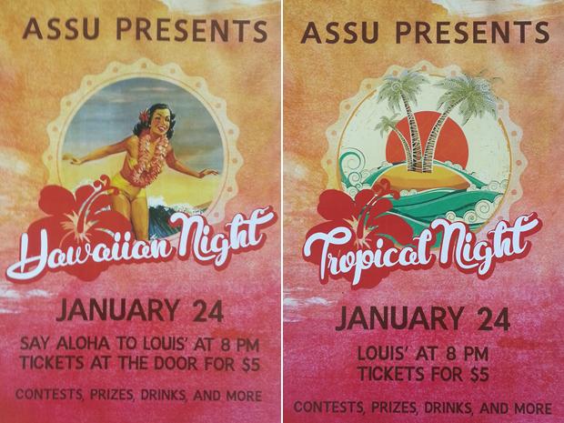 ASSU Hawaiian Night