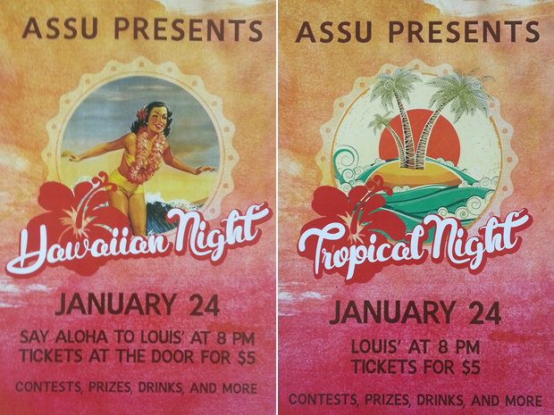 ASSU Hawaiian Night
